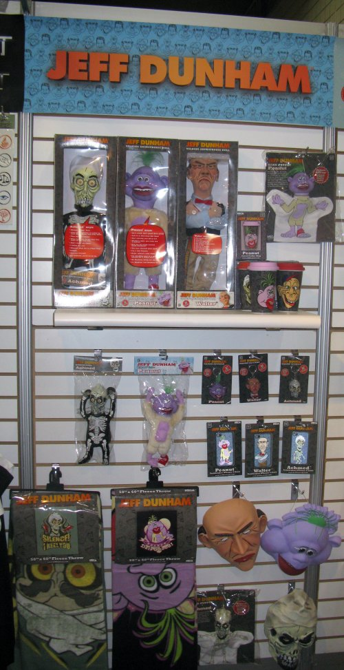 Jeff Dunham toys from NECA.