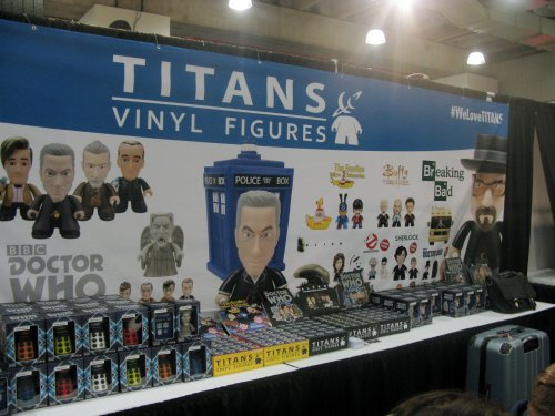Cool vinyl toys from Titan