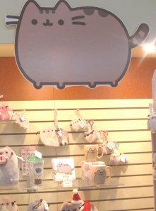 Pusheen display from GUND 2-17-2015