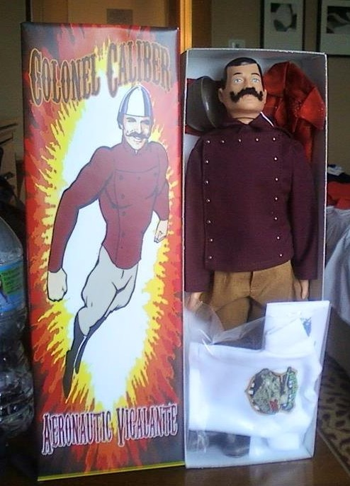 This year's exclusive figure, Colonel Caliber
