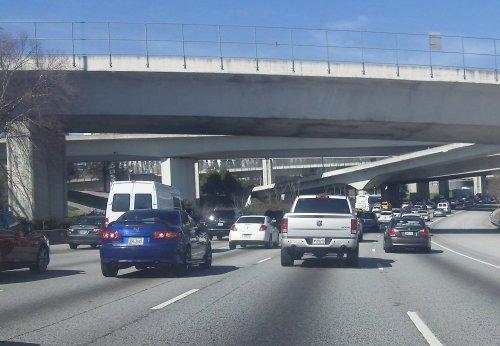 More traffic in Atlanta