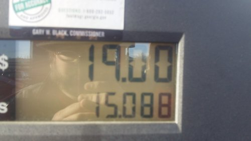 That's what a full tank of gas should cost