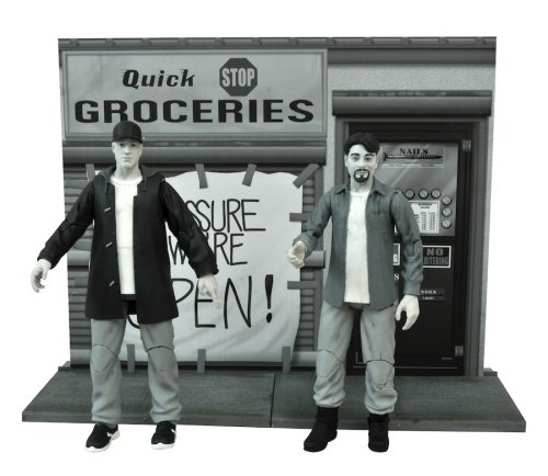 Detail on the Clerks figures