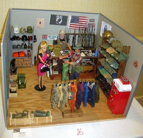 "Danny Garrett's ""Surplus Store"" requires a series of pictures"