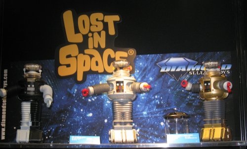 Lost In Space Robot B( variants with episode-specific dialog