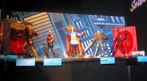 Marvel Select comic book figures