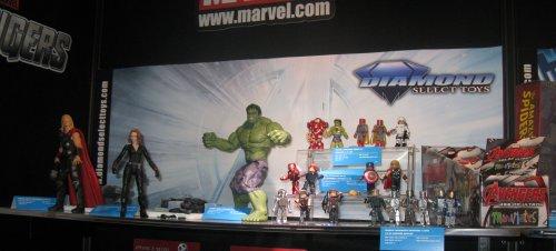 The Avengers II action figures