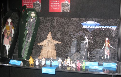 New Nightmare Before Christmas dolls and action figures