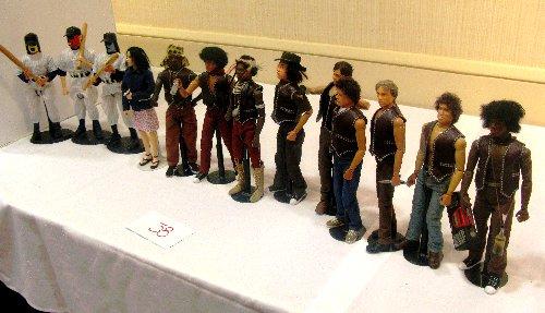 "Jack Hall's ""Warriors"" cast"