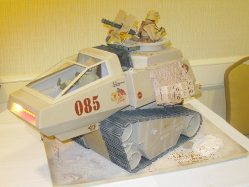Jeff McGarry's really cool scratch-built  Hiss Tank with lights and sounds.
