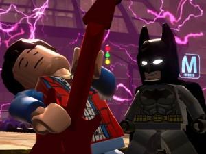 Marty McFly meets Batman