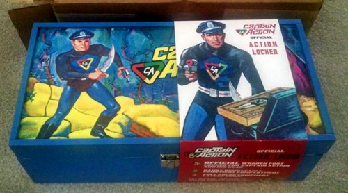 You can't get much cooler than a Captain Action Footlocker