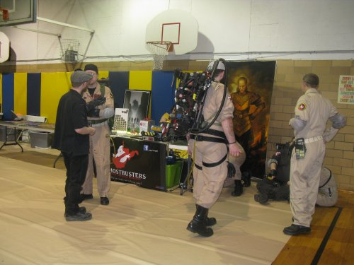 Ghostbusters WV Division kept the place safe for the public