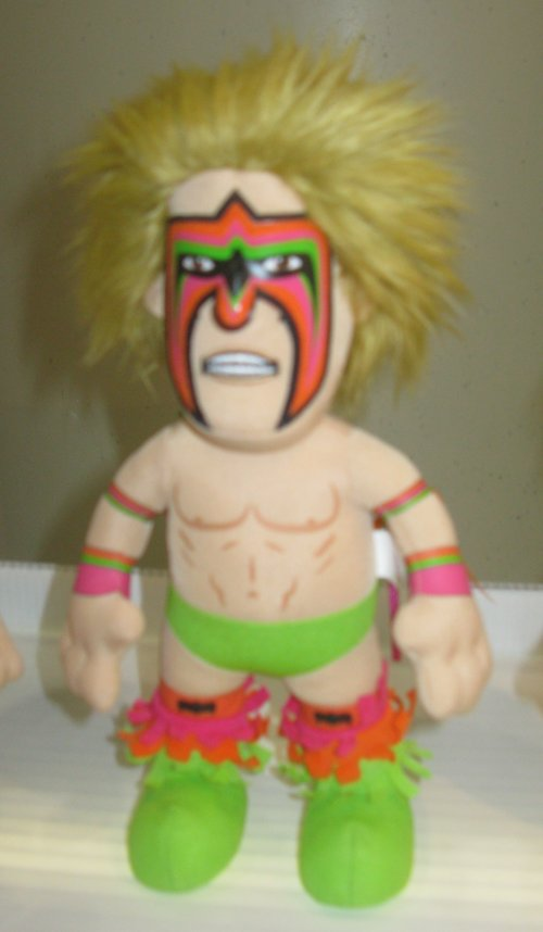 Plush Ultimate Warrior from Benchwarmers