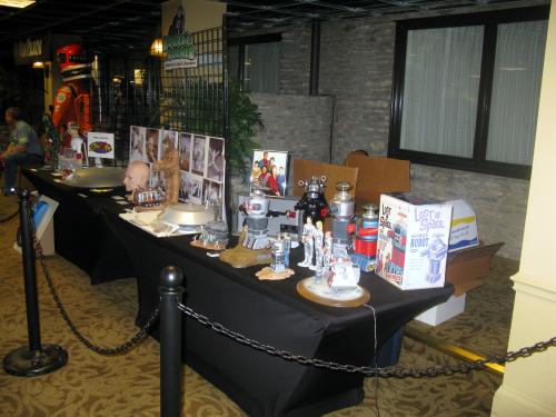 Whoa, a table full of cool stuff!