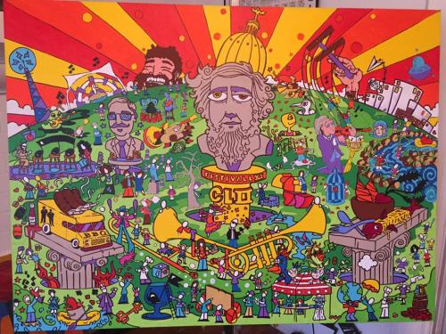 Ian's cool FestivALL piece