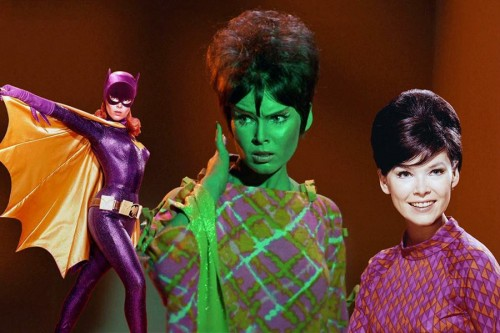 An Yvonne Craig montage, taken from The Women of Star Trek Facebook page