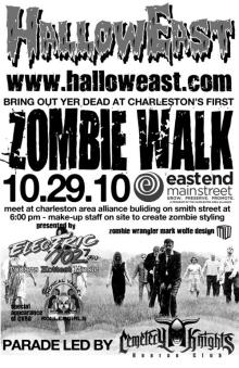 The Zombie Walk in happier times