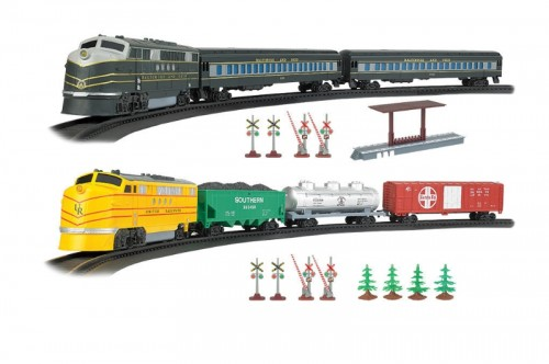 Bachman's new battery-operated trains