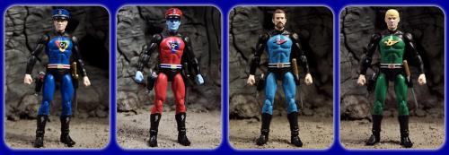 Captain Action, Captain Evil, Action Jackson and Jet Jungle