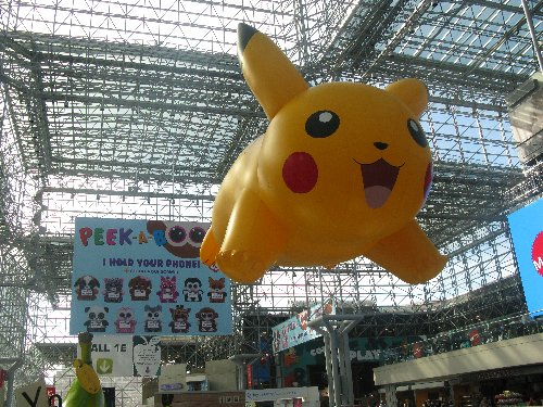 Pikachu was everywhere, makring 20 years of Pokemon