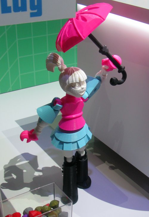 A large-sized Thingmaker doll