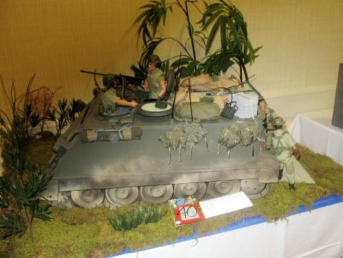 Joey Tutor's first-place Adult Vehicle, M113 Vietnam