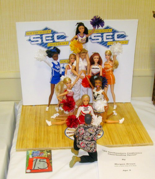 Morgan Brown - SEC Cheer Squad - 2nd Place Youth Diorama