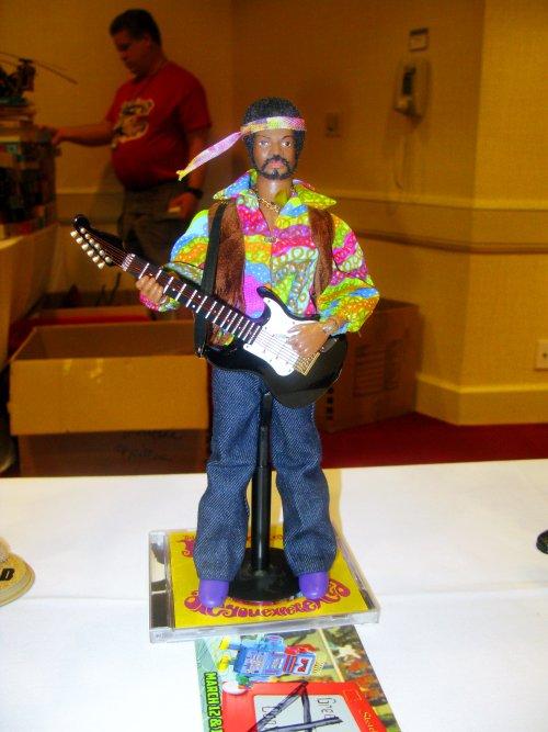2nd place Adult figure, Jimi Hendrix by Randy Sapp