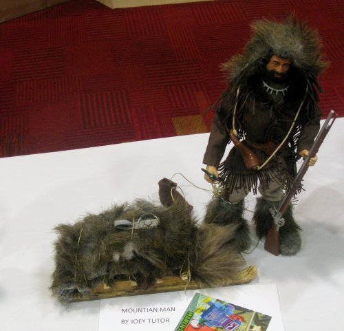 Adult figure 1st Place - Mountain Man by Joey Tutor