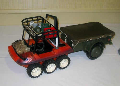 3rd Place Vehicle - Camo ATV W/Trailer - Jeff McGarry