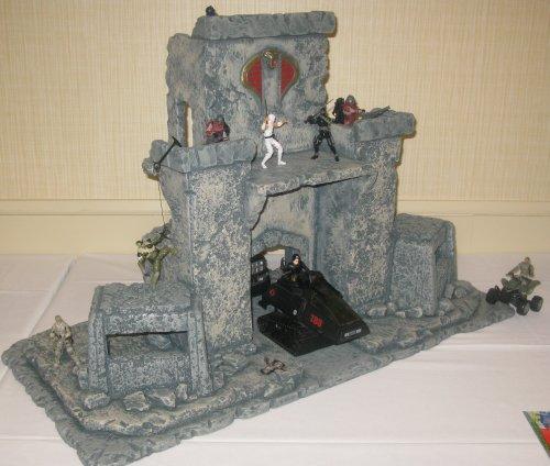 3rd Place Adult Diorama - Cobra Castle - Matthew LeCroy