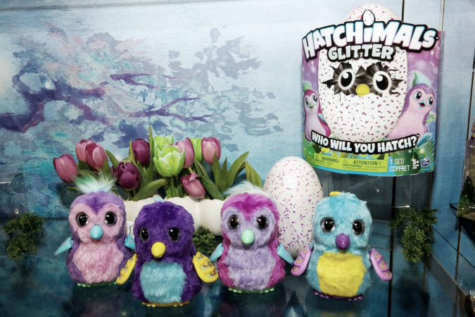Toy Fair 2017 Spin Master Hatchimals Air Hogs Meccano Zoomer And More