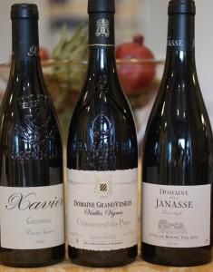 - Gigondas, Chateauneuf Du Pape & Cotes Du Rhone