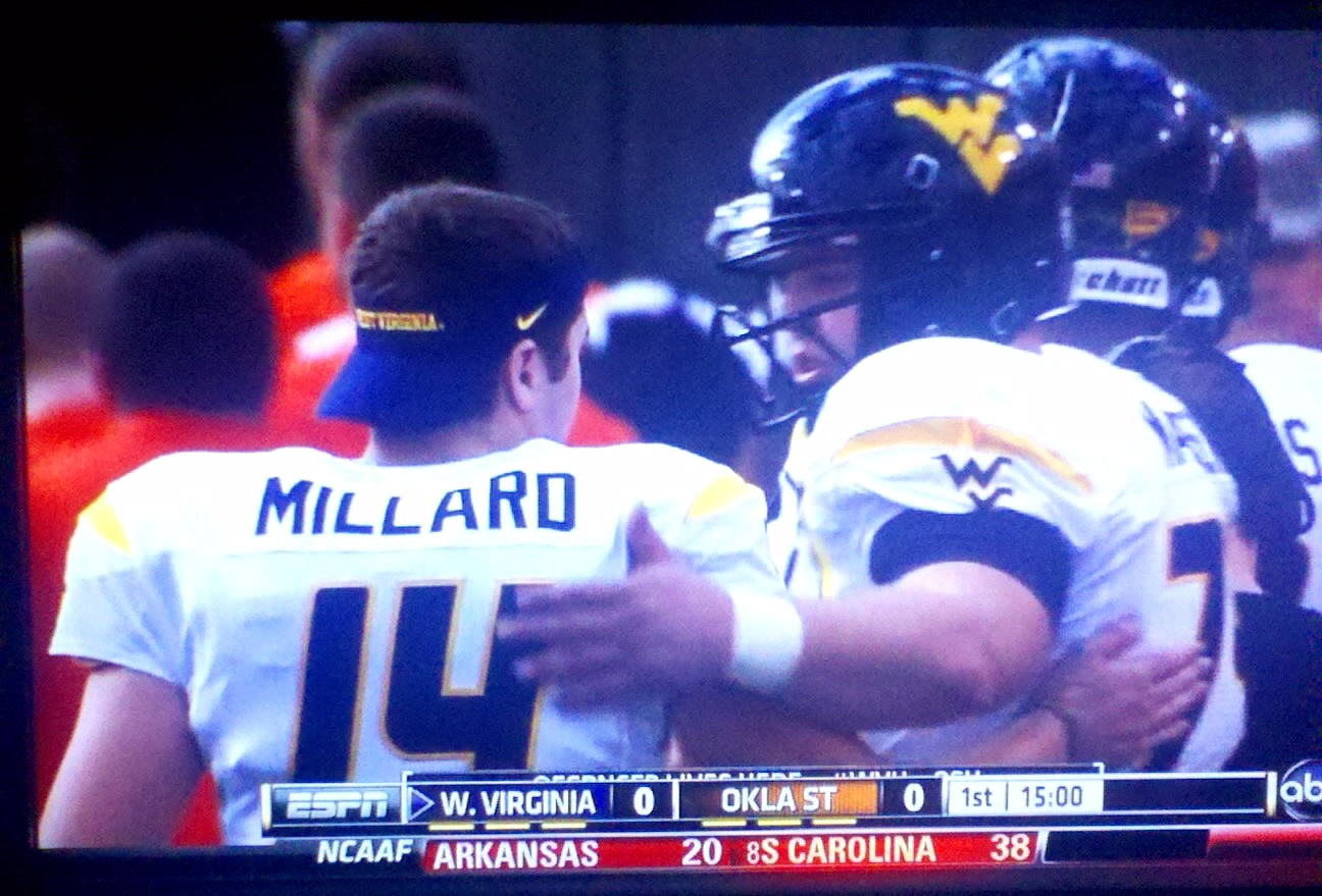 The visor preserves the backward hat quota on the sideline. Millard was the  highlight of the game with his cameo passes — camethrows  466580b71f6